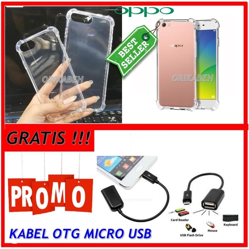 Back Case Soft Jacket / Anti Crack Oppo Neo 7 / A33 - Bahan Lebih Bagus + Gratis Kabel Otg Micro Usb ( orikabeh )