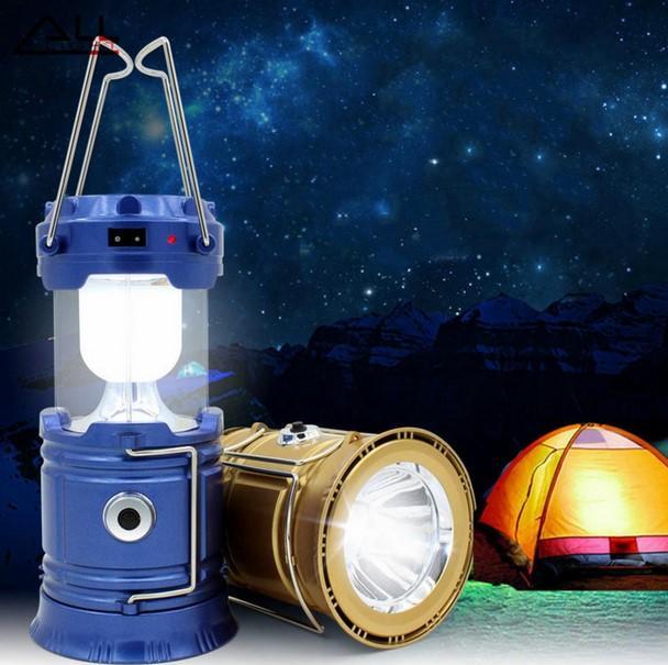 lampu camping emergency lentera tarik solar