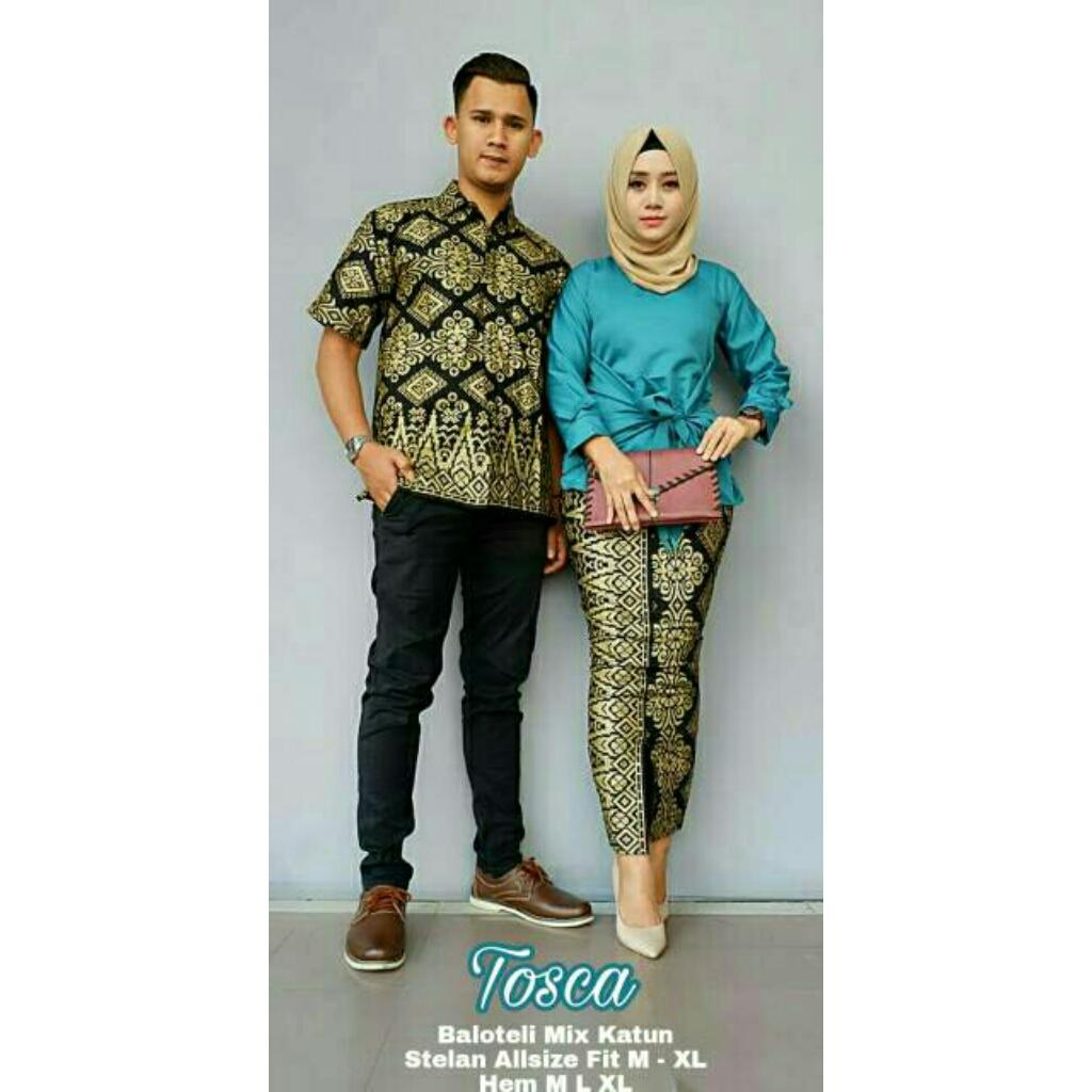 Likin Baju Batik / Batik Couple / Batik Sarimbit / Batik Pesta / Batik Keluarga Pitaloka
