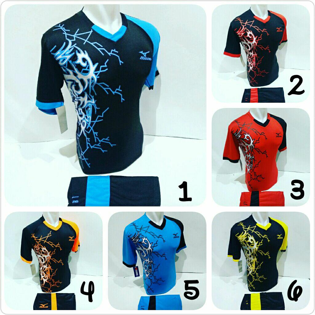 Baju Olahraga Jersey Bola Kaos Setelan Futsal / Volly