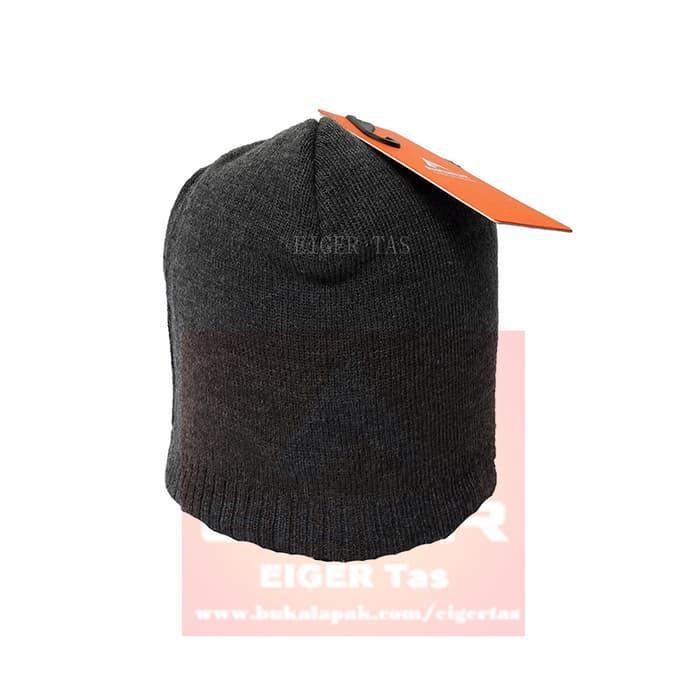 Harga Diskon!! Kupluk / Beanies/ Neff Headwear - Eiger A254 Grey & Dark Grey - ready stock