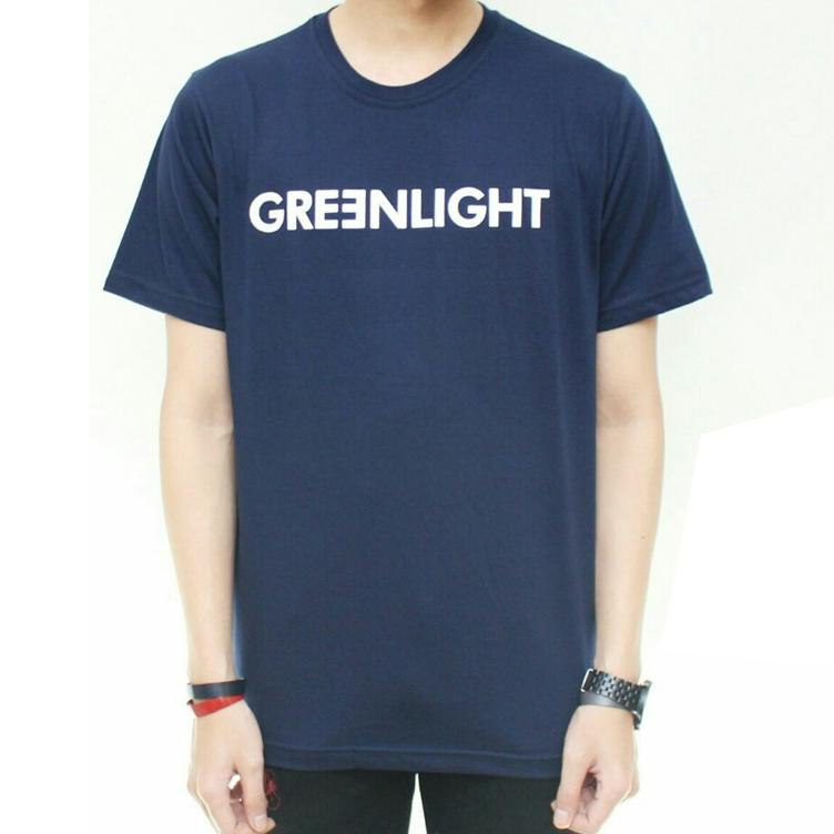Kaos Distro Greenlight / Tshirt Greenlight / Baju Greenlight