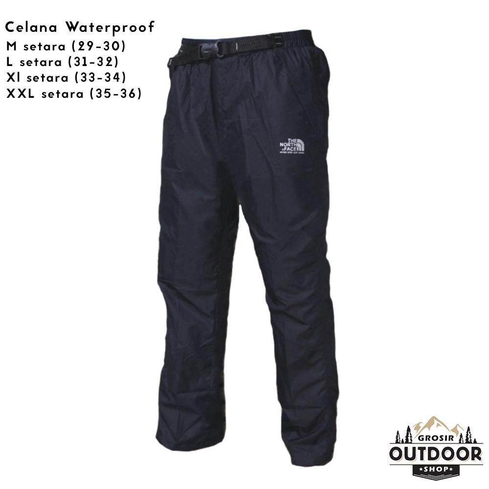 Celana Panjang Pendek Olahraga Pria Kemeja Lengan Benedict Navy Denim Ss Gunung Quickdry Hiking Mendaki Waterproof Merek Tnf