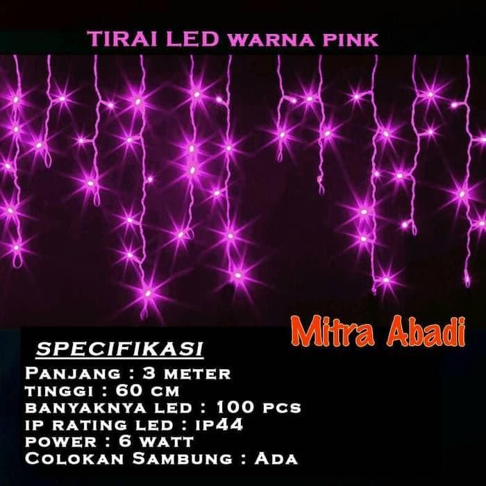 Lanjarjaya Stainless Steel Dinding Mount Pemegang Gantungan Handuk Source · Lampu Natal LED Tirai Pink tirai