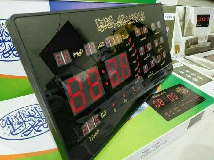 jam digital azan/jam adzan musholla masjid lima waktu sholat /salat - I77eRV