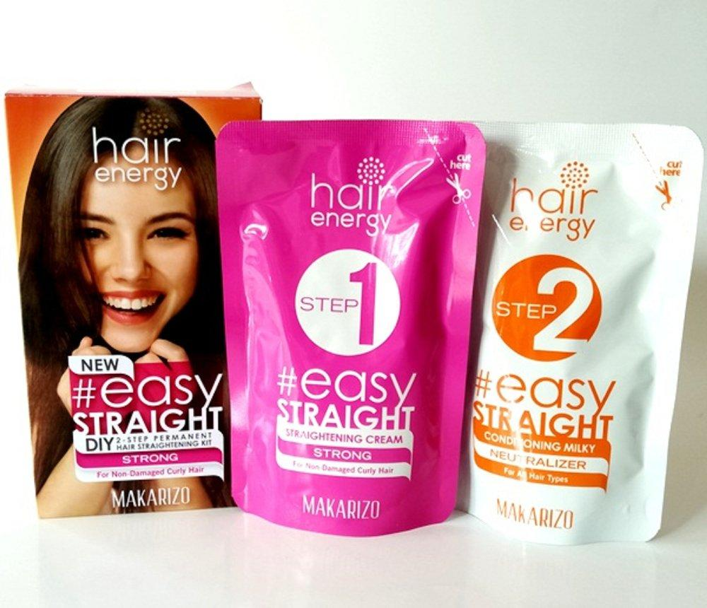 Makarizo Hair Energy Easy Straight DIY Smoothing Rambut Pelurus Rambut - STRONG