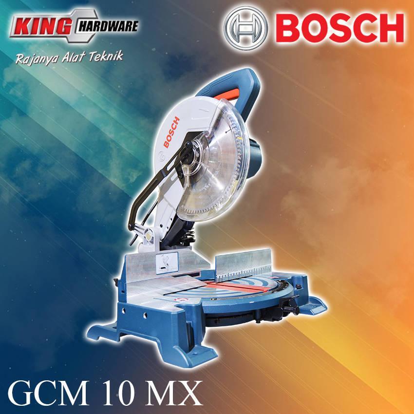 Mesin Pemotong Aluminium / Mitter Saw Bosch GCM 10 MX