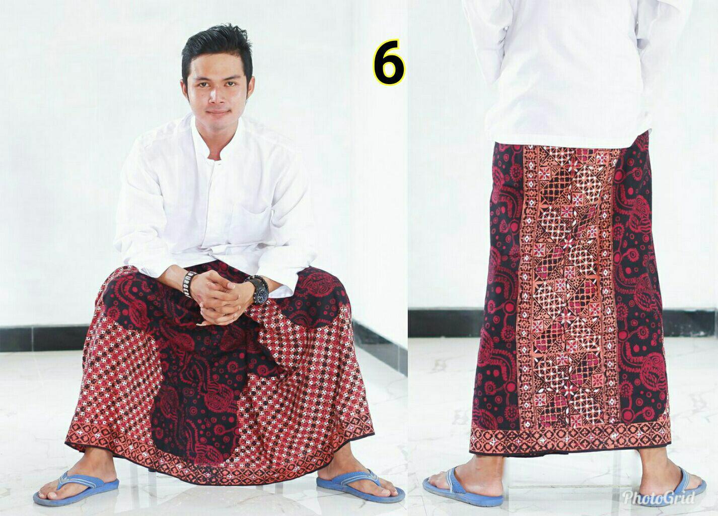 Sarung Batik Cap Budaya Nusantara Murah