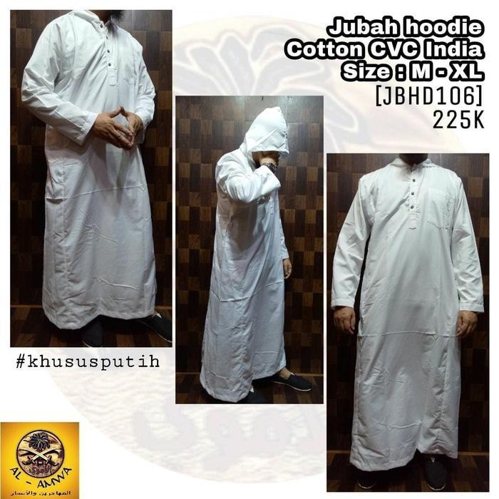 Beli Mode India Busana Muslim Pria Baju Koko Pria Baju Gamis Pria Source · Jubah Saudi Maghribi Hoodie Kupluk Katun Cvc India Al Amwa Muslim Koko