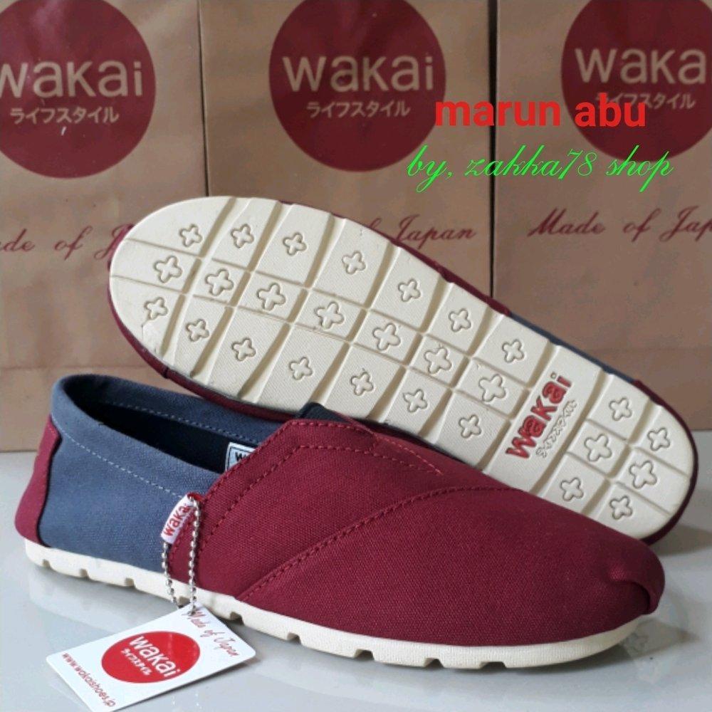 Sepatu WAKAI Wanita Warna Kombinasi - Unisex