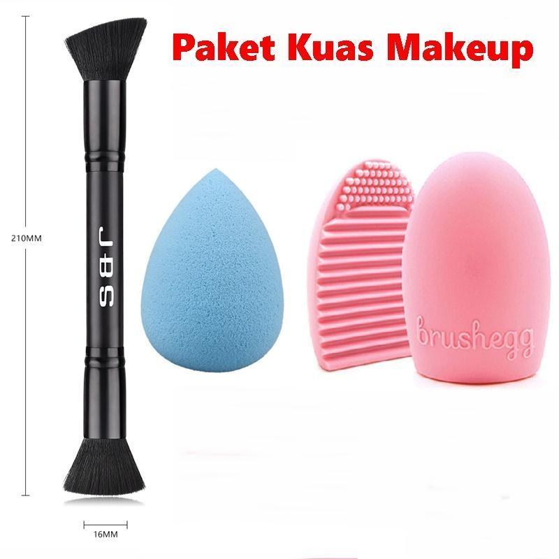 JBS New York Make Up Brush Powder - Kuas Powder Double - Makeup Tools / K068