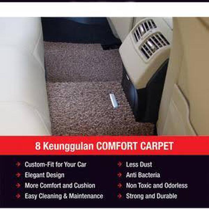 Karpet Mobil Comfort Deluxe Khusus Chevrolet Trax 2016