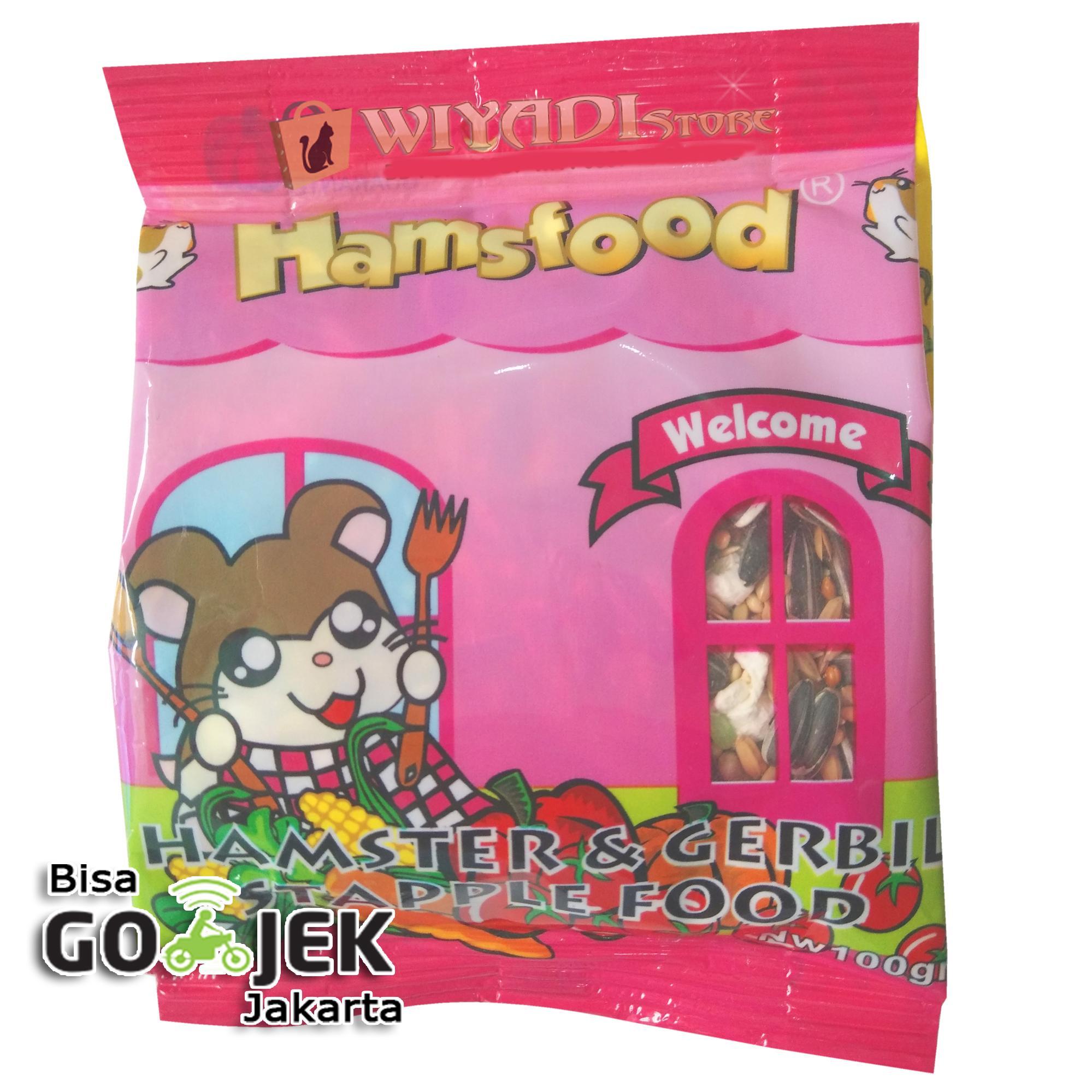 Wiyadistore - Makanan Hamster Hamsfood 100gr By Wiyadistore.