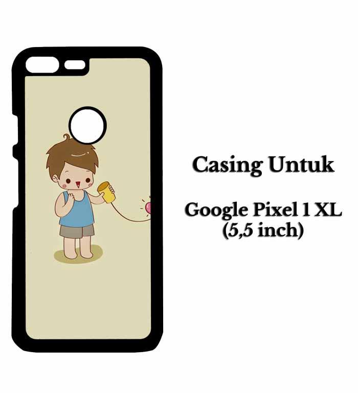 Casing HP GOOGLE PIXEL 1 XL couple 1 Hardcase Custom Case Snitchshop