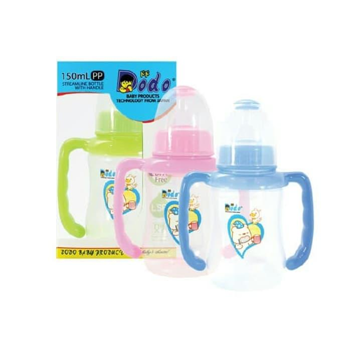 DODO BOTOL SUSU STREAMLINE WITH HANDLE 150ML / BOTOL SUSU MURAH BPA FREE