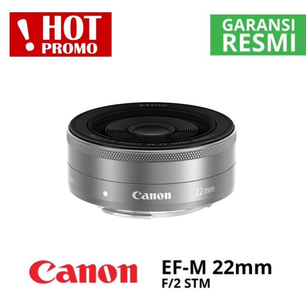 Lensa Canon EF-M 22MM F2 Promo