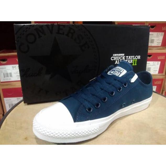 Sepatu Converse All Star Ct 2 Navy Lunarlon Premium Original Bnib - Ffwcrk