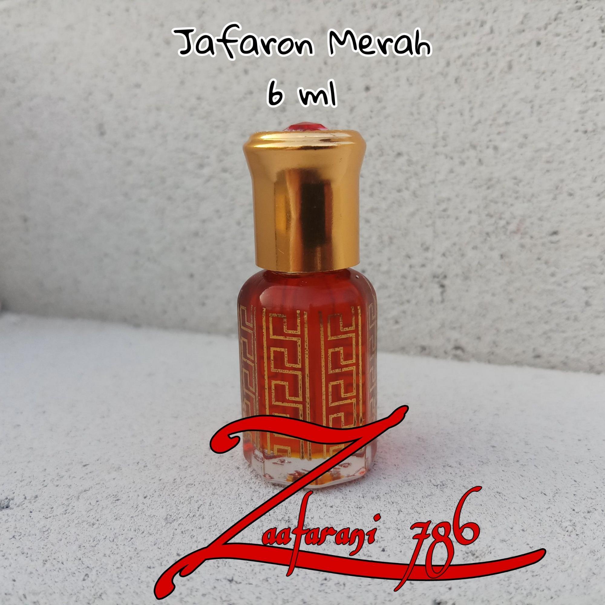 Minyak Jafaron Merah 6 ml ( Asli - Murni - Non Alkohol - Bibit - Asal Arab )
