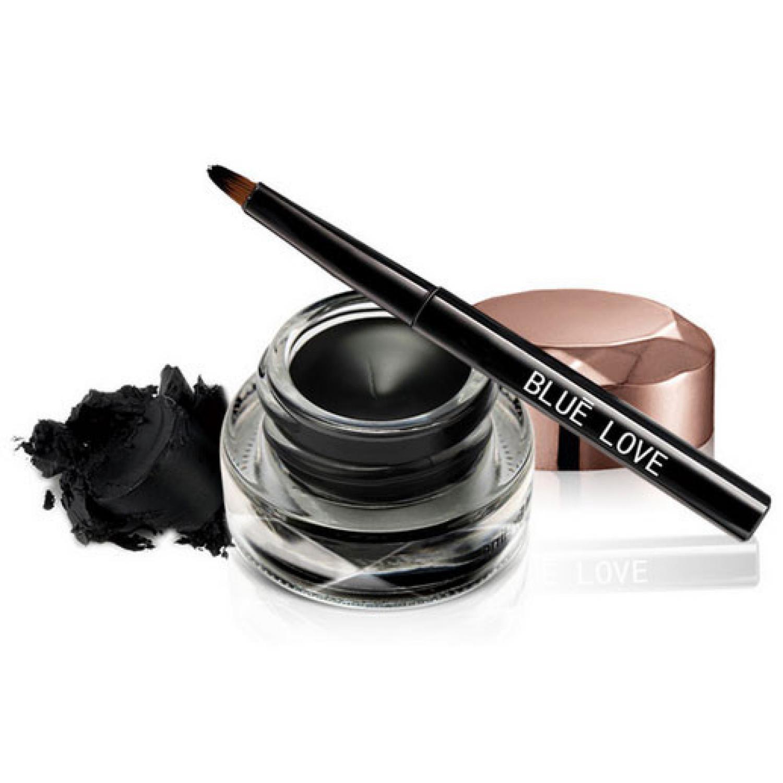 Blue Love Charm Black Eyeliner / Eyeliner Bentuk Pulpen / Eyeliner