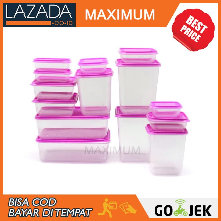 MAX COD - Calista Otaru Sealware set of 7 isi 14 pcs - Kontainer Makanan Premium