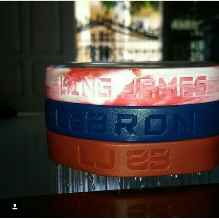 HARGA SPESIAL!!! GELANG NIKE BALLER ID BANDS LEBRON JAMES (VERY VERY LIMITED EDITION) - JVDZZh