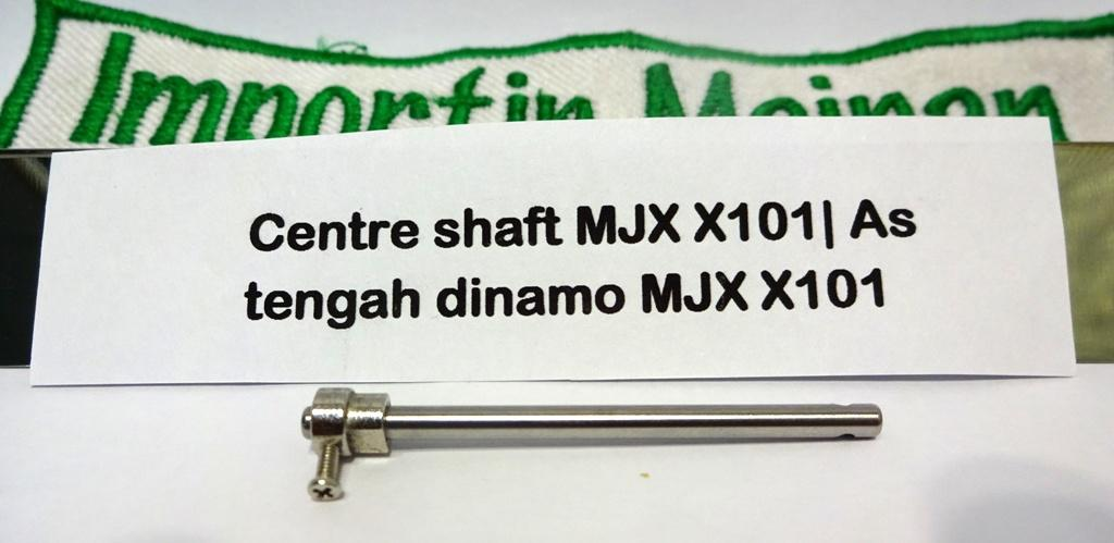 Gansatoy gear shaft MJX X101-09|spare part gear shaft MJX X101|as