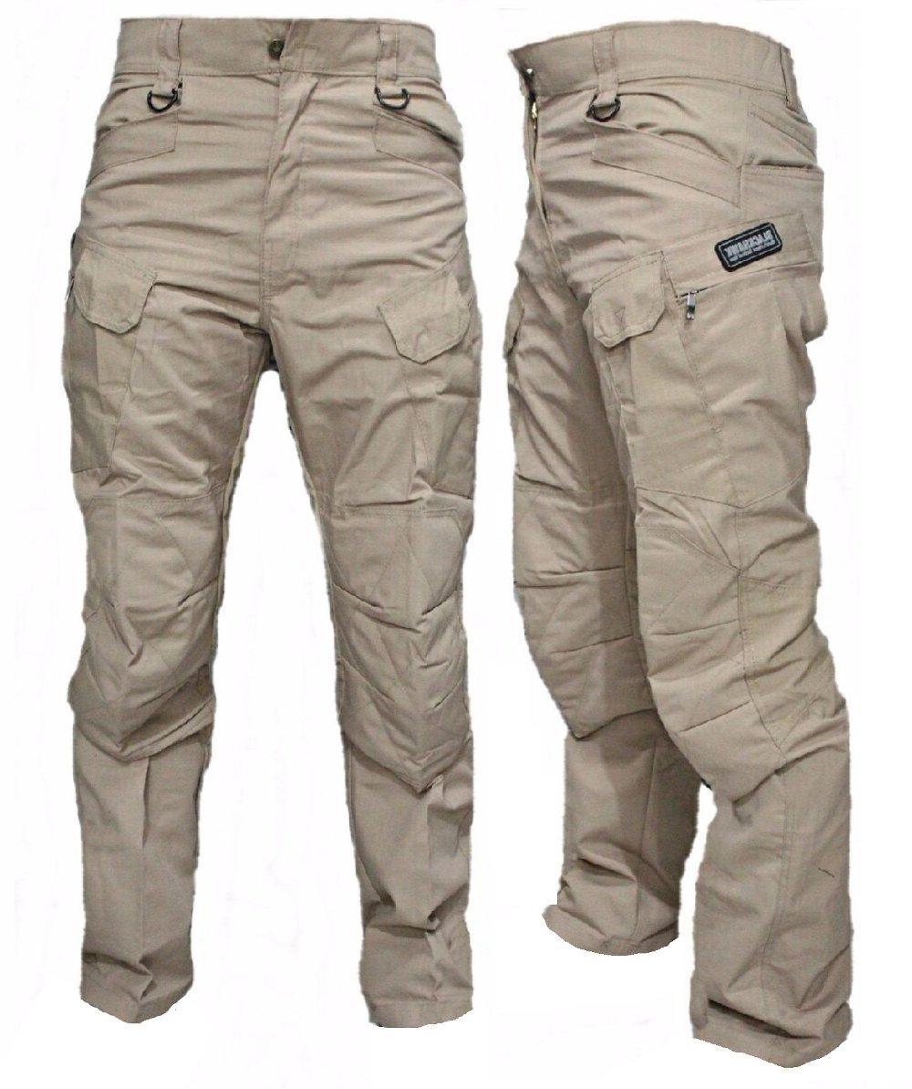 Celana Panjang Blackhawk Tan Size 28 - 48 / Celana Tactical Taktikal Krem / Celana Outdoor / Celana Hunting / Celana Cargo Cream Khaki / Celana PDL