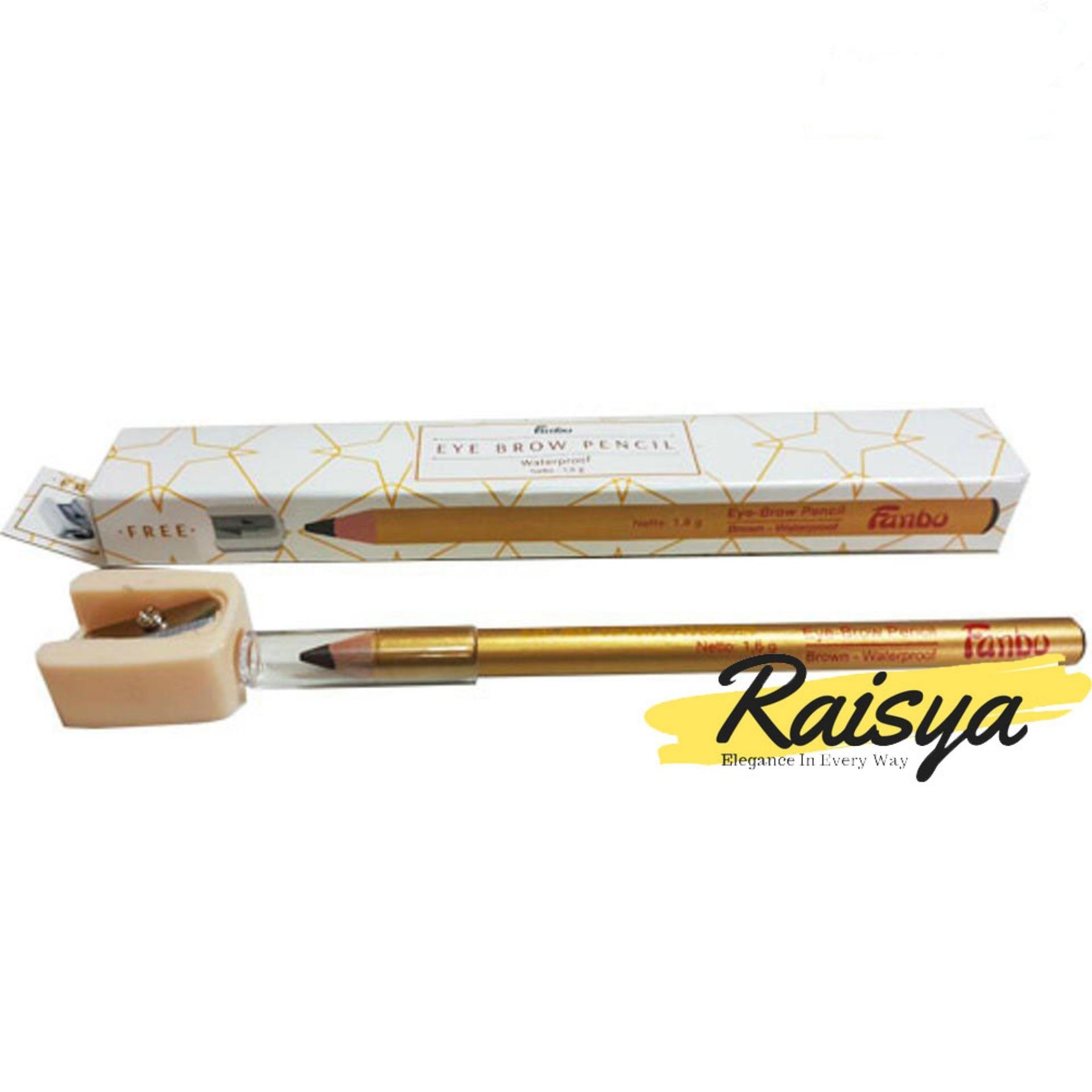 Fanbo Gold Eyebrow Pensil Alis - Coklat - Original