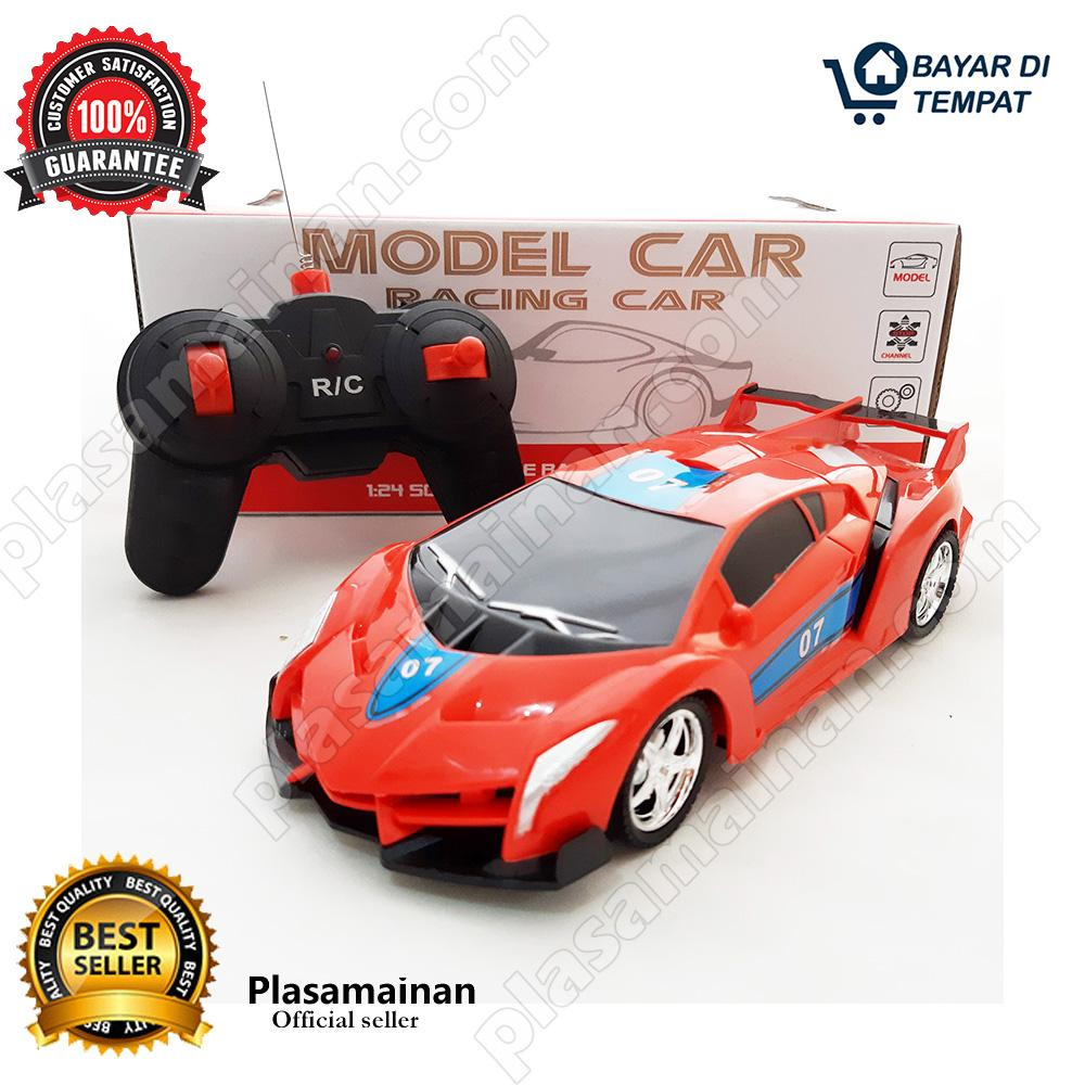 MOMO Toys Racing Car RC Noble Car Merah BO - Mainan Mobil Remot Control