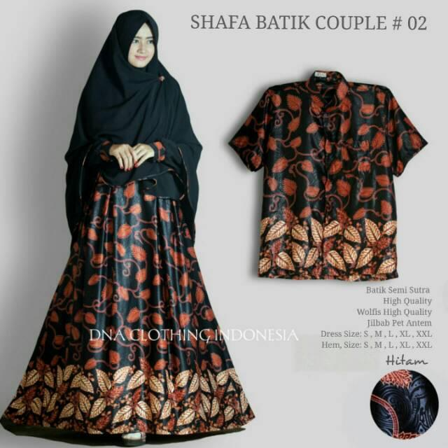 Shafa batik couple (hem xxl)