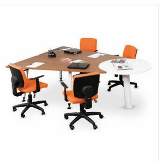 Promo meja kantor meja meeting rapat office plus modera modern design Original