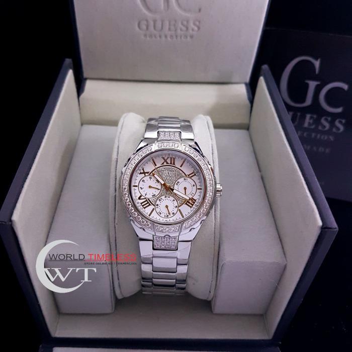 Jam Tangan Wanita Merk Guess Collection Type   16001 Baterai adc43e523b