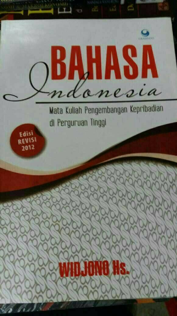 BAHASA INDONESIA & WIDJONO Hs & . gansabook 019