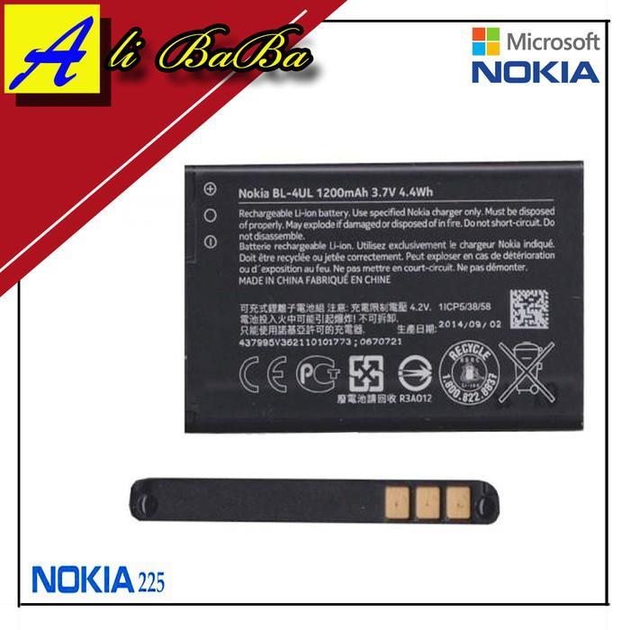 Baterai Handphone Nokia Asha 225 BL-4UL Batre HP Batre Nokia Asha