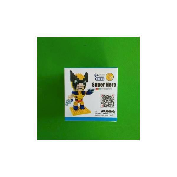 TERMURAH Hsanhe Nano Block Superhero XMEN Mainan Edukasi / Hadiah Ulang Tahun