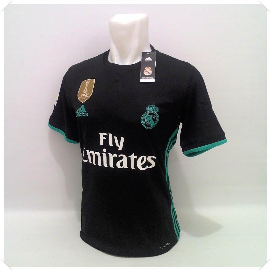 Zoc - Jersey Bola Kaos Olahraga T-Shirt Real Madrid Home Away 3RD 17/18