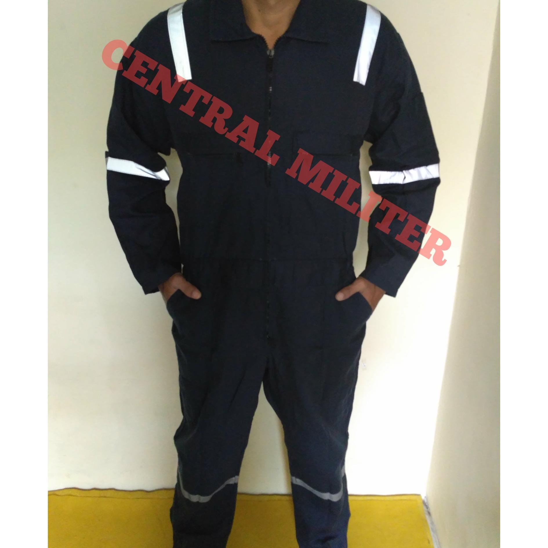 Katelpak Biru Dongker Scotlight/ Wearpack/ Coverall