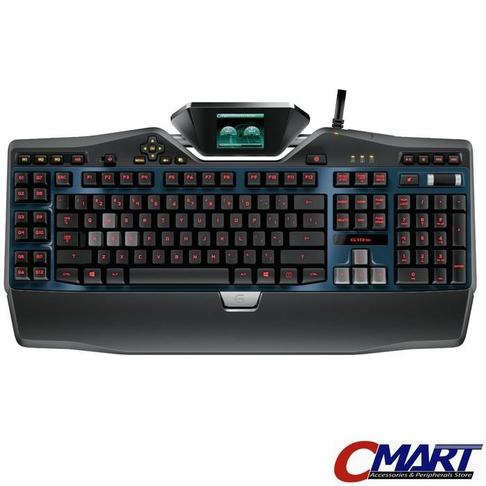 Logitech G19s Gaming Keyboard with Color Game Panel Screen  920-004999
