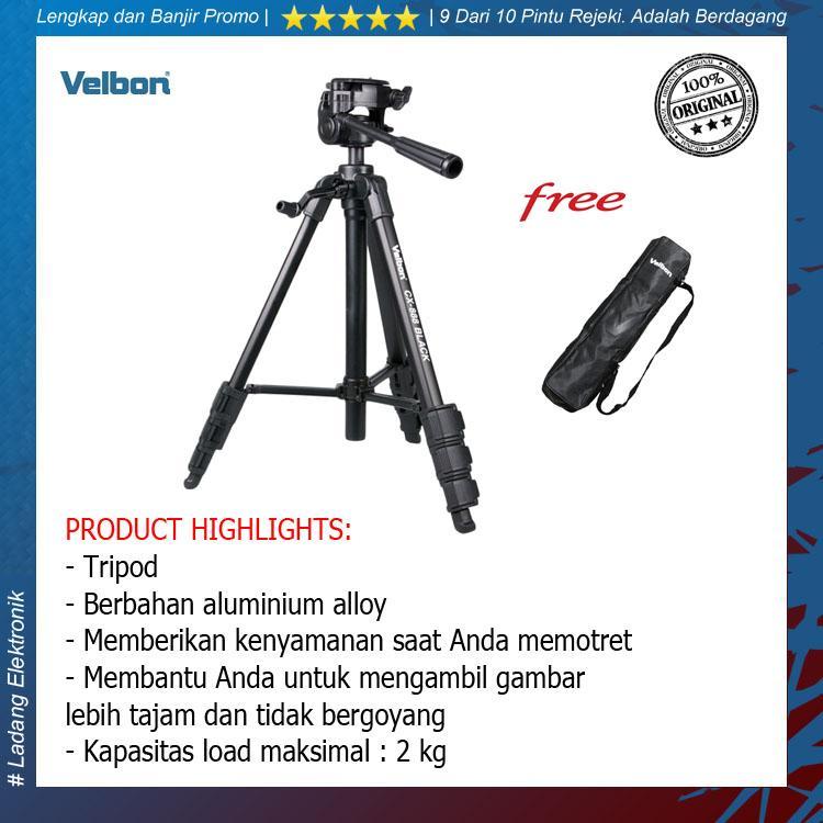 Velbon CX-888 / CX 888 Tripod ( Free Tripod Bag ) - Original
