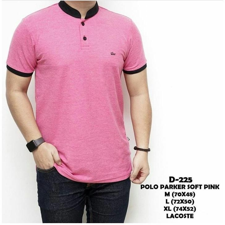 POLO PARKER SOFT PINK LACOSTE