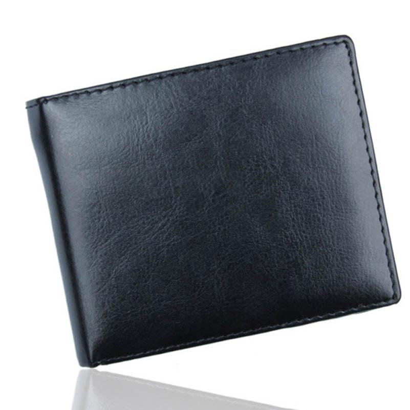 Ormano Dompet Pria Polos Bifold Simple Wallet Bahan Kulit Kartu ATM Business Card Kartu Nama Man Fashion Accessories Slim Pocket Design Simple Modern PU ...