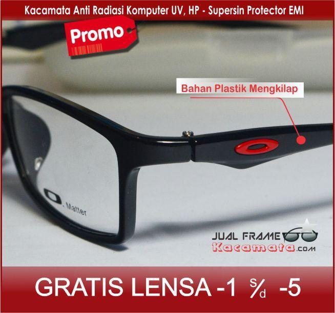 Frame Kacamata 533 + Lensa  Minus/plus/silinder untuk pria dan wanita