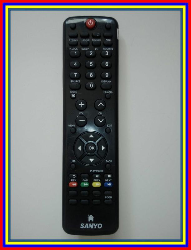 Remot Remote TV LCD LED Sanyo Haier