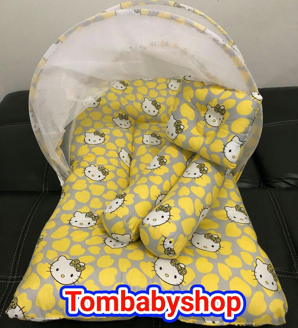Babybee Matras Pad Classy Size 95 X 65 2 5 Cm Spec Dan Daftar Seprei Linen Polkadot Kuning Cari Harga