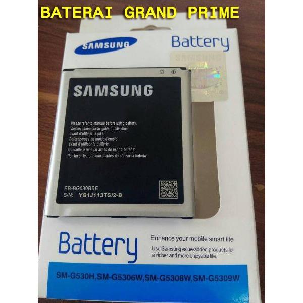 Baterai Samsung Grand Prime Batre hp Lama Battery Batray Batere baru