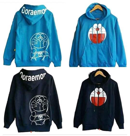 Jaket Doraemon Hodie Tex Turqies Sweater