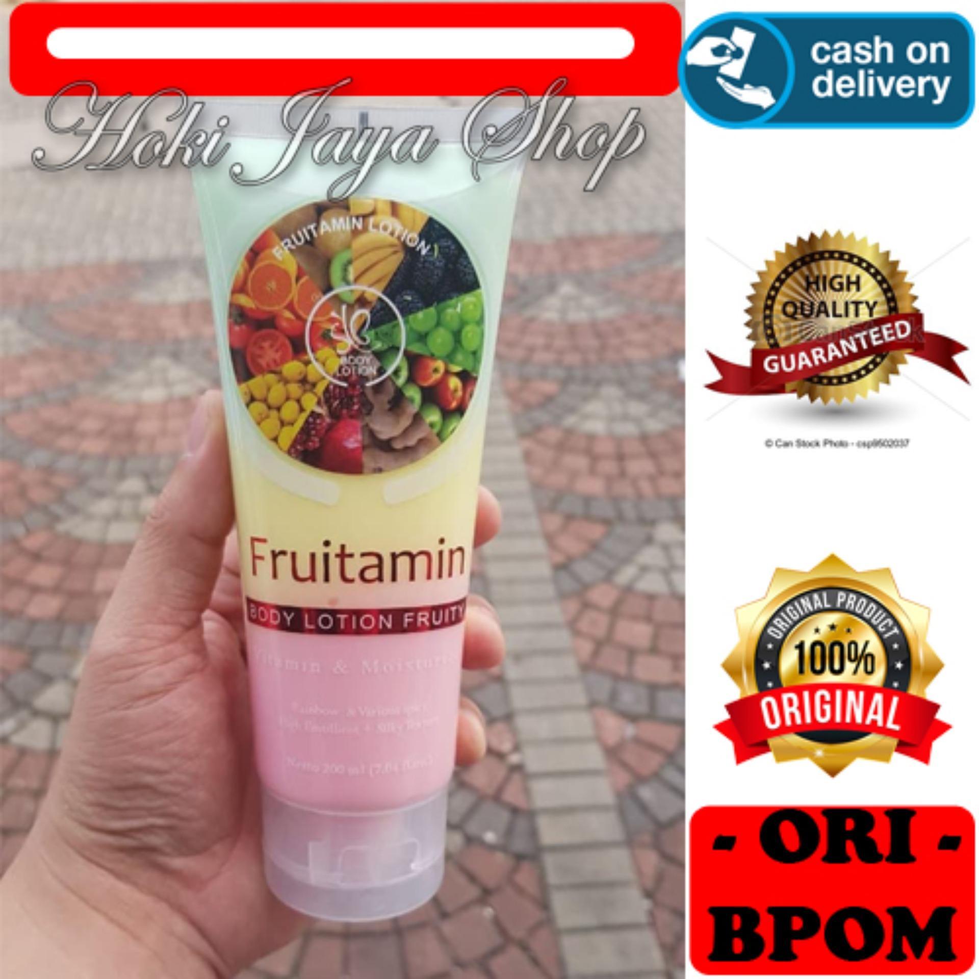 HOKI COD - SYB Body LOTION Spa FRUITAMIN Varian Fruit Extract Original Wangi Mencerahkan Kulit BPOM