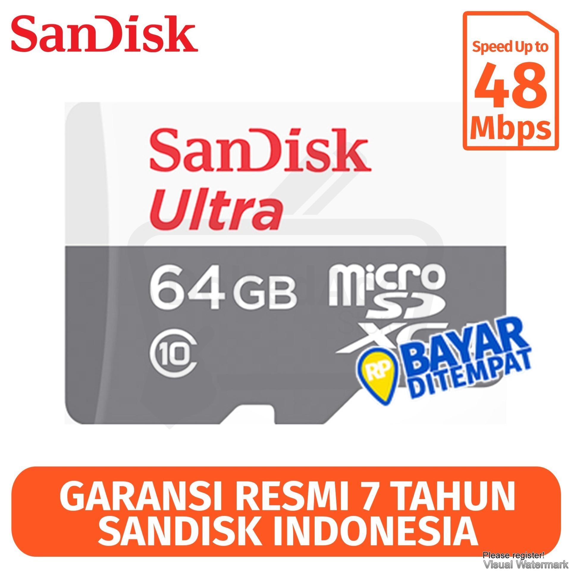 Sandisk Ultra MicroSD Memory Card [16GB/ 80Mbps/ No Adapter] *NEW Original