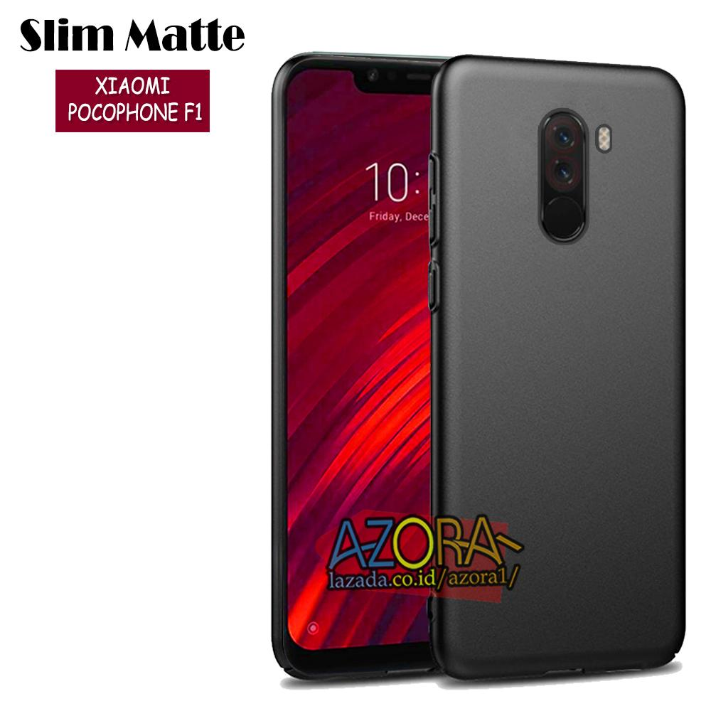 Case Slim Black Matte Xiaomi Pocophone F1 ( POCO ) Master Of Speed Baby Skin Softcase Ultra Thin Jelly MiA2 Silikon Babyskin