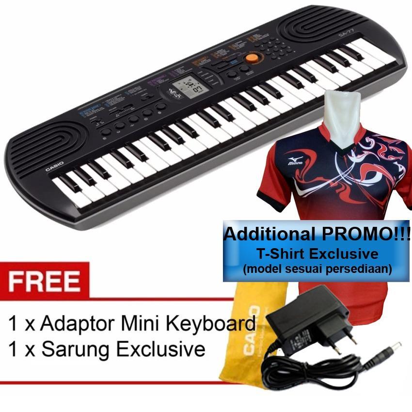 Casio Mini Keyboard SA-77 Include Adaptor